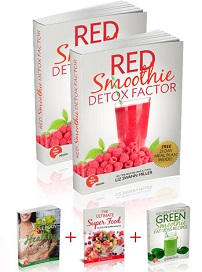 Red Smoothie Detox Factor Liz